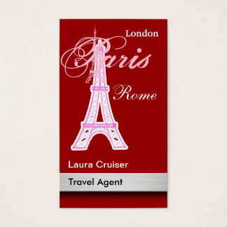 Travel Agent Business Cards