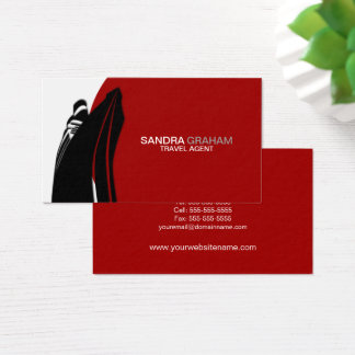 Travel Agent / Cruise Ship Business Card