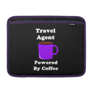 """""""Travel Agent"""" Powered by Coffee Sleeves For MacBook Air"""
