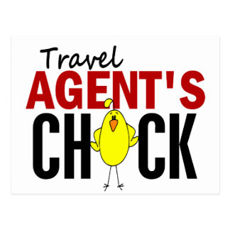 Travel Agent s Chick Post Card