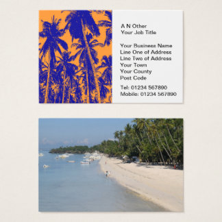 Travel Agents Business Card