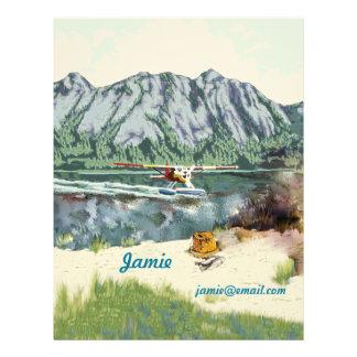 Travel Alaska Custom Letterhead
