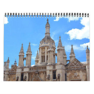 Travel, Architecture Photos Calendar