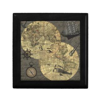 Travel around the world gift box