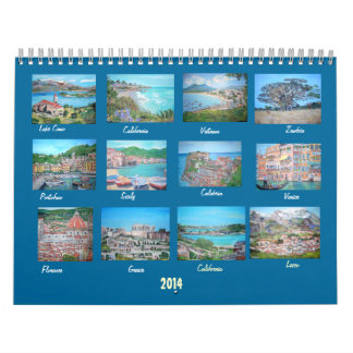 Travel Art Collections - Volume II - 2014 Calendar