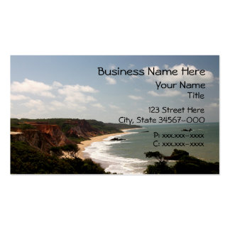 Travel Beach Double-Sided Standard Business Cards (Pack Of 100)