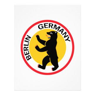 TRAVEL BERLIN GERMANY PERSONALIZED LETTERHEAD