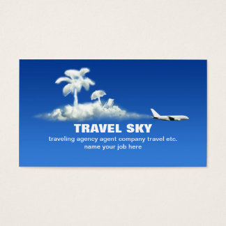 travel business card