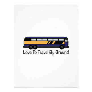 Travel by Ground Customized Letterhead