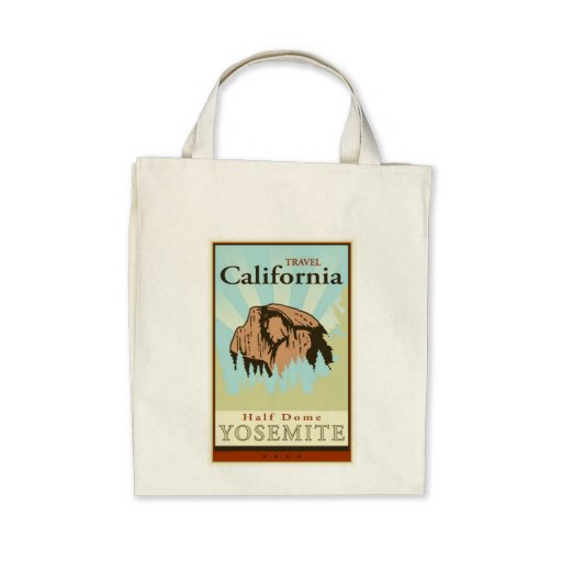 Travel California Tote Bag