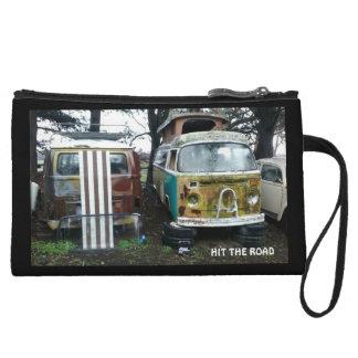 Travel clutch purse
