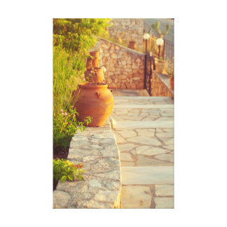 travel collection. Greece Canvas Print