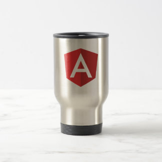 Travel/Commuter Mug - Angular Logo