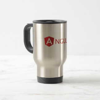 Travel/Commuter Mug - Angular Logo (icon)