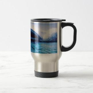 Travel / Commuter Mug: Surf Art Travel Mug
