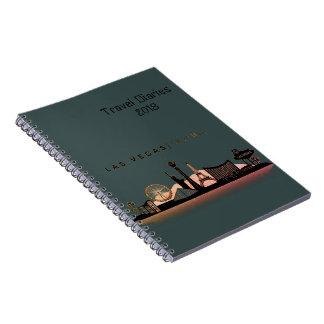 Travel diaries 2018 los angels note book