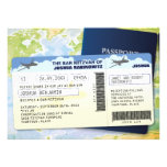 Travel Documents Bar or Bat Mitzvah