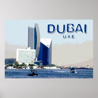 Travel Dubai Poster