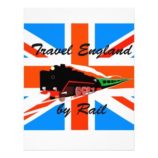 Travel England By Rail Customized Letterhead