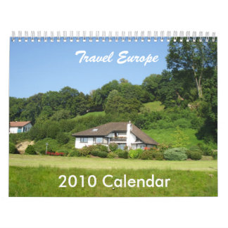 Travel Europe Wall Calendars