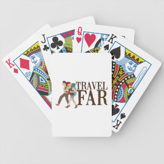 Travel Far Bicycle Playing Cards