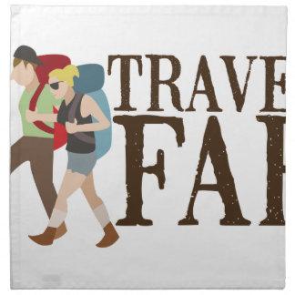 Travel Far Cloth Napkins