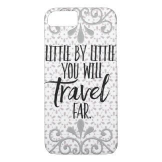 Travel Far Quote iPhone Case