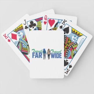 Travel Far & Wide Poker Deck