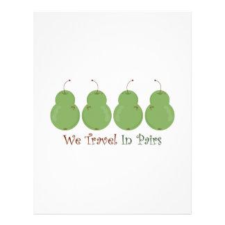 Travel In Pairs Letterhead Design