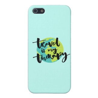 Travel is my Therapy Case For The iPhone 5