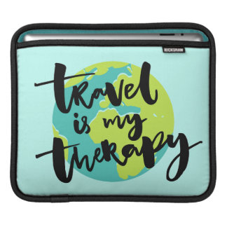 Travel is my Therapy iPad Sleeve