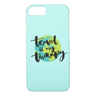 Travel is my Therapy iPhone 8/7 Case