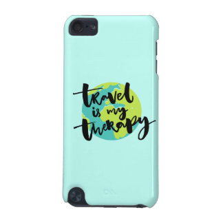 Travel is my Therapy iPod Touch (5th Generation) Cases