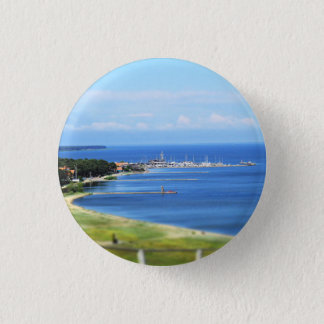 Travel Lithuania - Nida 1 Inch Round Button