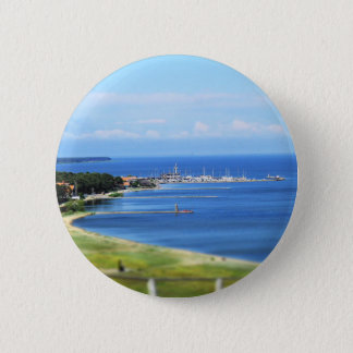 Travel Lithuania - Nida 2 Inch Round Button