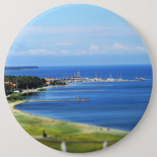 Travel Lithuania - Nida 6 Inch Round Button
