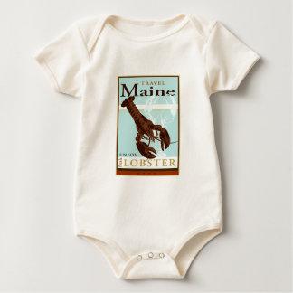Travel Maine Baby Bodysuit