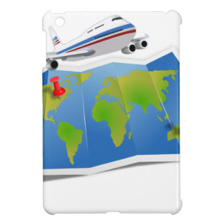 Travel Map Case For The iPad Mini