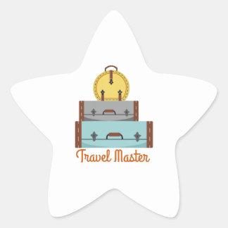Travel Master Sticker