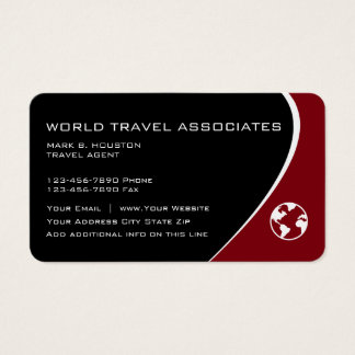 Travel Modern Business Cards