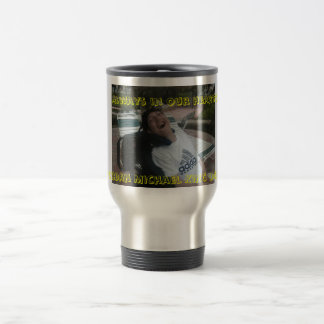 Travel mug Always in our hearts Jordan Michael ...