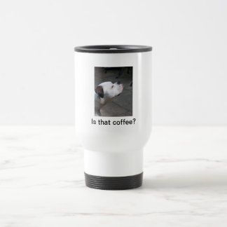 Travel Mug: Boxer Dog Travel Mug