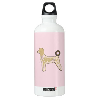 Travel mug custom poodles