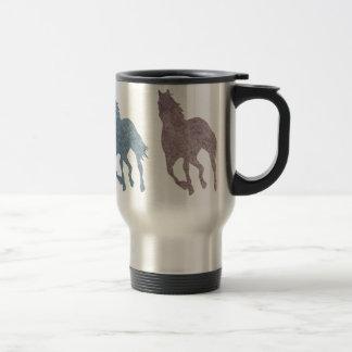 Travel Mug for Horse Lovers Equestrian Horseback