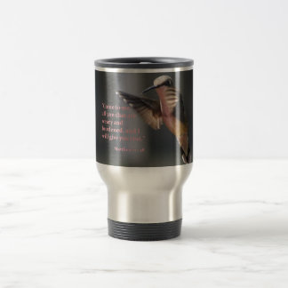 Travel mug...Hummingbird...rest Travel Mug