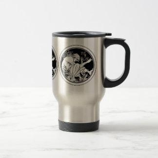 """Travel Mug Merlin"""" by Aubrey Beardsley"""