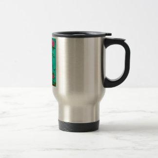 Travel Mug/ Our Lady of Gaudalupe 15 Oz Stainless Steel Travel Mug
