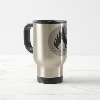 Travel mug: stay wild and free (survival mug) travel mug