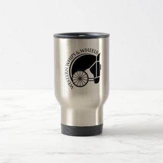 Travel Mug Western Whips and Wheels