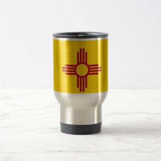 Travel Mug with Flag of New Mexico State - USA